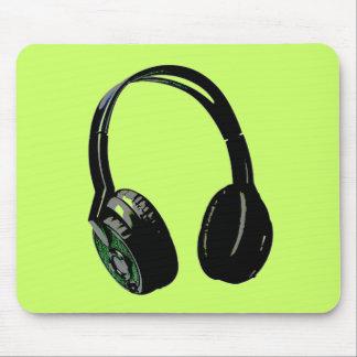 Headphone Pop Art Mouse Pad