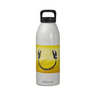 Headphone Smile Drinking Bottles