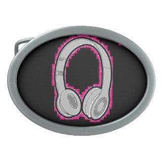 Headphones Belt Buckle