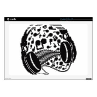 Headphones Decals For Laptops
