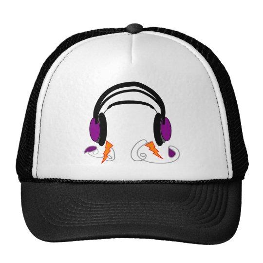Headphones Design--Music Lovers Trucker Hat