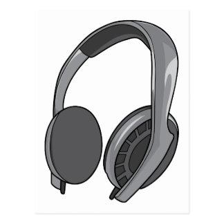 Headphones - Earphones - Headsets Audio 2 Postcard