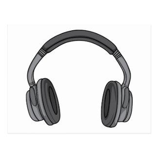 Headphones - Earphones - Headsets Audio 3 Postcard