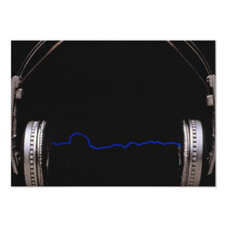 Headphones for music lovers card