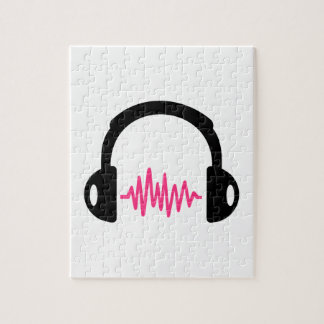 Headphones Frequency Jigsaw Puzzles