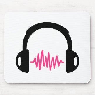 Headphones Frequency Mousepads