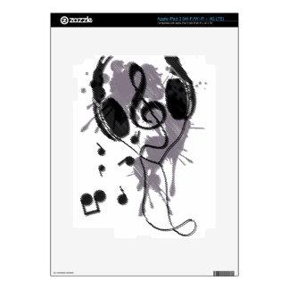 Headphones(G) iPad 3 Decals