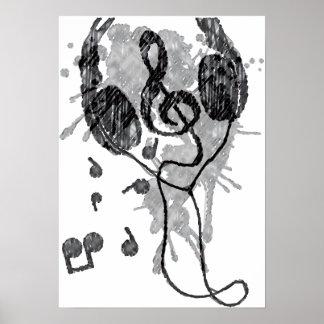 Headphones(G) Poster