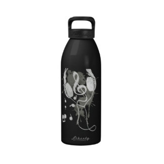 Headphones(G) Reusable Water Bottle