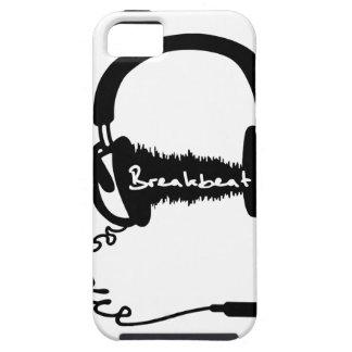 Headphones Headphones Audio Wave Motif: Breakbeat iPhone 5 Covers