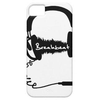 Headphones Headphones Audio Wave Motif: Breakbeat iPhone 5 Cases