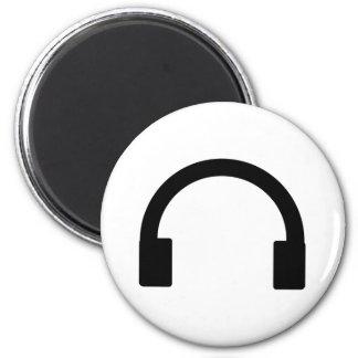 headphones icon fridge magnet