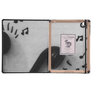 Headphones iPad Folio Cases