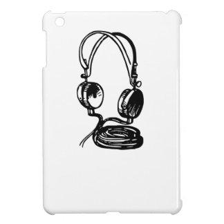 Headphones iPad Mini Cover
