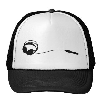 Headphones Jack cap Trucker Hat