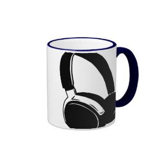 Headphones.jpg Ringer Coffee Mug