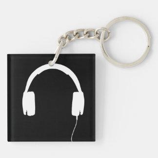 Headphones Key Chain