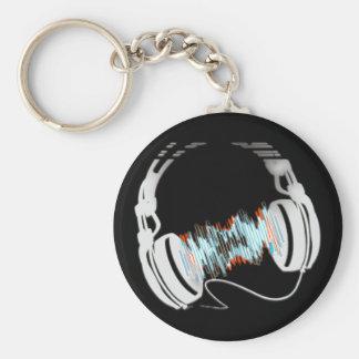 Headphones Key Chains