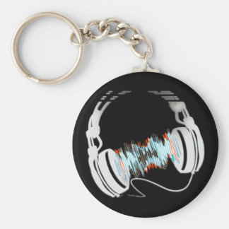 Headphones Keychain