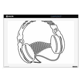 Headphones Laptop Decals