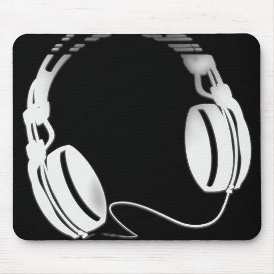 Headphones Mouse Pad