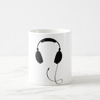 Headphones Coffee Mugs