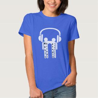 Headphones Music Brings People Together Shirt
