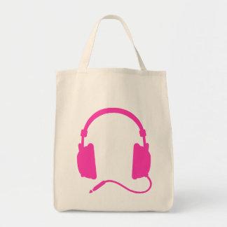 """""""Headphones"""" Music Tote Bag"""