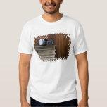 Headphones on Records T-shirt