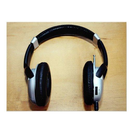 Headphones Personalized Announcements
