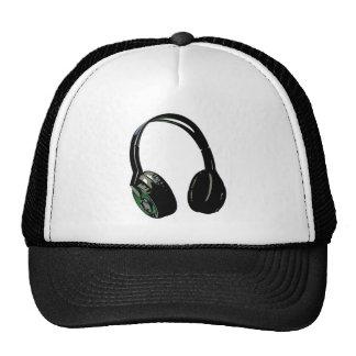 Headphones Pop Art Mesh Hats