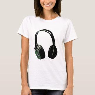 Headphones Pop Art T-Shirt