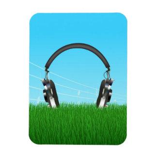Headphones Vinyl Magnets