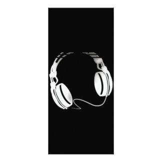 Headphones Full Color Rack Card