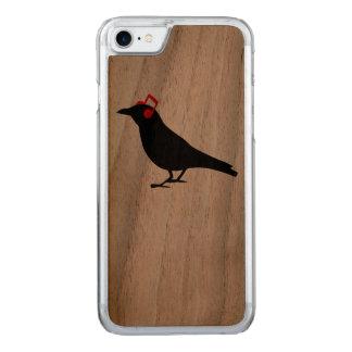 Headphones Raven Carved iPhone 7 Case