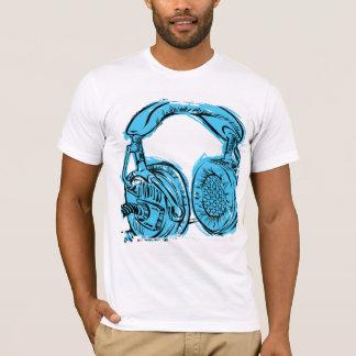 Headphones Sketchbook T-Shirt