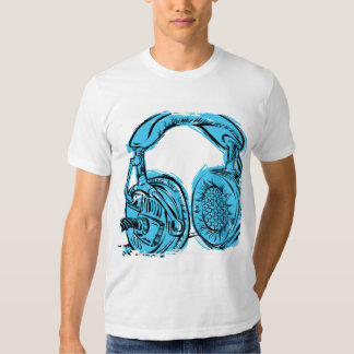 Headphones Sketchbook Tee Shirt