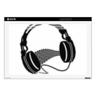 Headphones Skin For Laptop