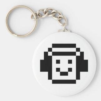 Headphones Smile Keychains