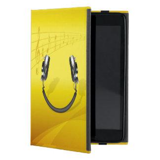 Headphones Smiling iPad Mini Cases