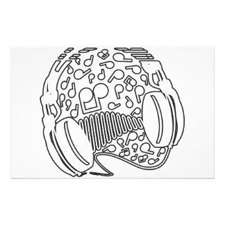 Headphones Stationery