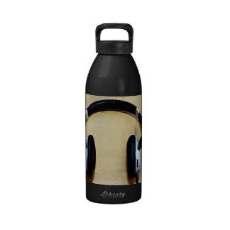 Headphones Water Bottle