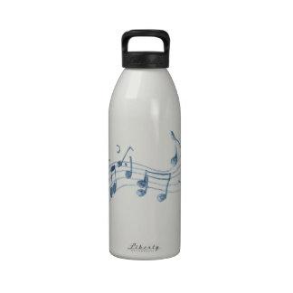 Headphones Reusable Water Bottles
