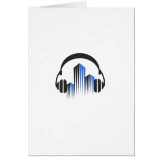 Headphones with Frequency-Equalizer DJ Music Sound Card