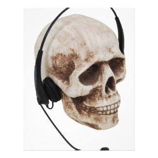 HeadphoneSkull042109 Plantillas De Membrete