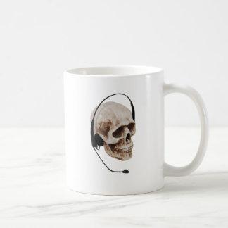 HeadphoneSkull042109 Coffee Mug