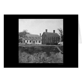 Headquarters of Lord Cornwallis near Yorktown 1864 Card