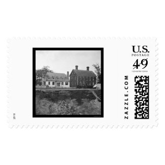 Headquarters of Lord Cornwallis near Yorktown 1864 Stamp