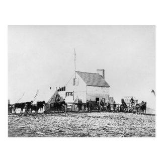 Headquarters of Sanitary Commission Postcard