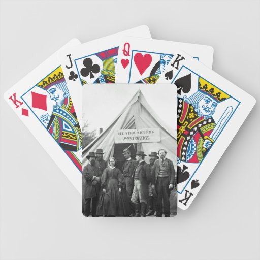 Headquarters Post Office. Bicycle Playing Cards